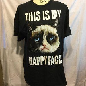 Tops - Grumpy cat tee